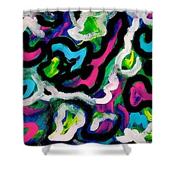 Parade Float Shower Curtain