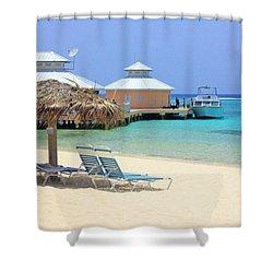 Paradise Docking Shower Curtain