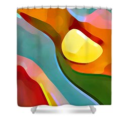 Paradise Found 7 Shower Curtain by Amy Vangsgard