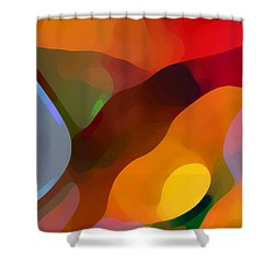 Paradise Found Tall Shower Curtain by Amy Vangsgard