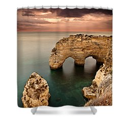 Paradise Shower Curtain by Jorge Maia