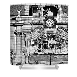 Paradise Movie Theatre Shower Curtain
