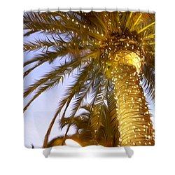 Paradise Palm Shower Curtain