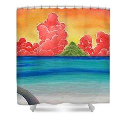 Paradise Panorama Shower Curtain