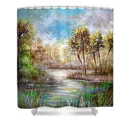 Paradise Shower Curtain by Patrice Torrillo