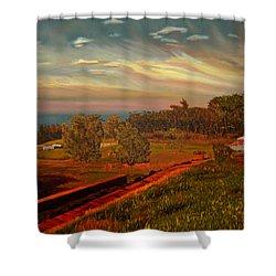 Paradise Road Shower Curtain