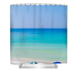 Paradise Shower Curtain by Shelby  Young
