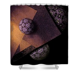 Paragon Shower Curtain by Susan Maxwell Schmidt