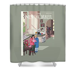 Mothers' Day Shower Curtain