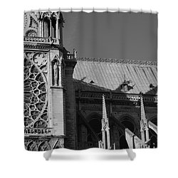 Paris Ornate Building Shower Curtain by Cheryl Miller