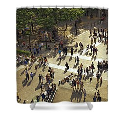 Shower Curtain featuring the photograph Paris Afternoon by John Hansen