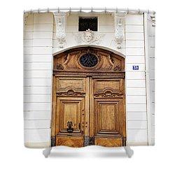Paris Door - No. 30 - Paris Photography Shower Curtain