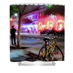 Shower Curtain featuring the photograph Paris In Santa Monica by Jennie Breeze