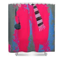 Paris Promenade Shower Curtain