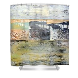 Paris Y2k Shower Curtain