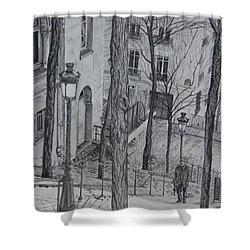 Parisienne Walkways Shower Curtain