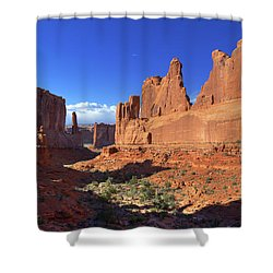Park Avenue Sunset Shower Curtain