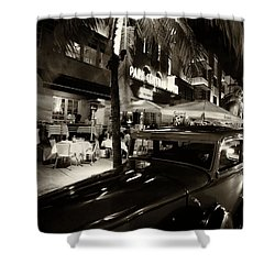 Park Central Hotel Shower Curtain