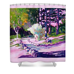 Park Trails 2           Shower Curtain by Kathy Braud