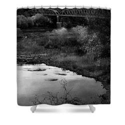 Parker Bridge Shower Curtain