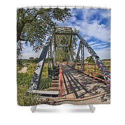 Shower Curtain featuring the photograph Parkville Missouri by Liane Wright
