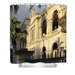 Parlament House In Brisbane Australia Shower Curtain
