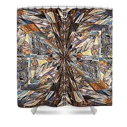 Parquet Mania Shower Curtain by Tim Allen