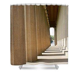 Parthenon1 Nashville Tn Shower Curtain