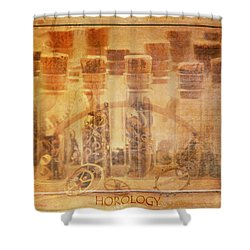 Parts Of Time Shower Curtain