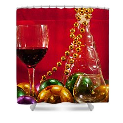 Party Time Shower Curtain by Anthony Walker Sr