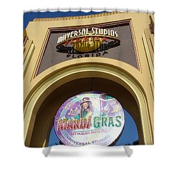 Shower Curtain featuring the photograph Party Time by David Nicholls