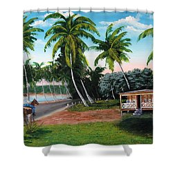 Paseo Por La Isla Shower Curtain