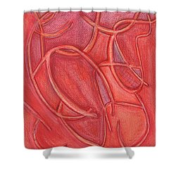 Pass This Way Shower Curtain by Kelly K H B
