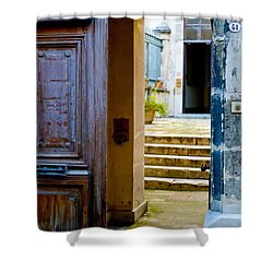 Passages Shower Curtain