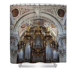 Passau Cathedral Saint Stephan 2 Shower Curtain