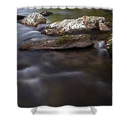 Shower Curtain featuring the photograph Passing By by Andy Crawford