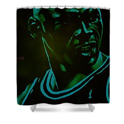 Shower Curtain featuring the digital art Passion by Brian Reaves