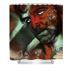 Passion Shower Curtain by Francoise Dugourd-Caput