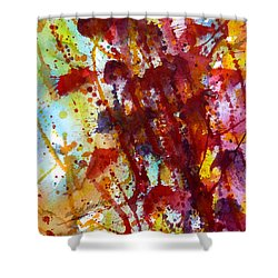 Passion Rising Shower Curtain