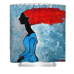Passion Seeker Shower Curtain by Ana Maria Edulescu