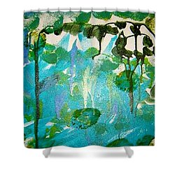 Passion Vine Shower Curtain