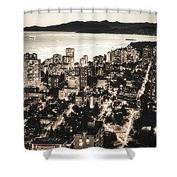 Passionate English Bay Mccclxxviii Shower Curtain