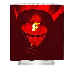 Passion's Flame Shower Curtain