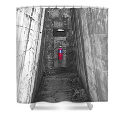 Past Emergency Shower Curtain