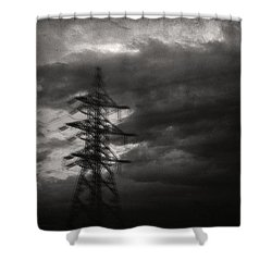Past Shower Curtain by Taylan Apukovska