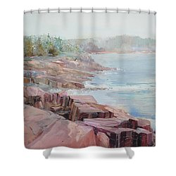 Pastel Cove Shower Curtain