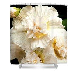 Pastel Delphinium Shower Curtain