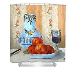 Pastel Study Shower Curtain