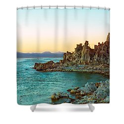 Pastel Tufas Shower Curtain