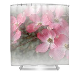 Pastels In Pink Shower Curtain